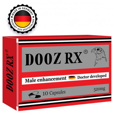 DOOZ RX 10 cápsulas para erección